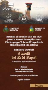 i cavalli dei re di Napoli - invito web