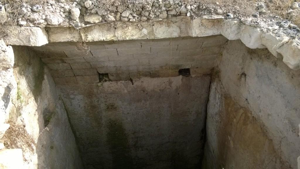 Cisterna scoperta a Sant'Angelo a Torella