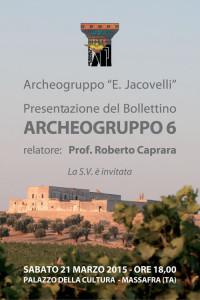 invito archeogruppo 6 mini