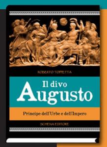 copertina del libro il divo Augusto di roberto toppetta