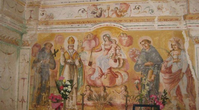 affreschi masseria fanelli massafra